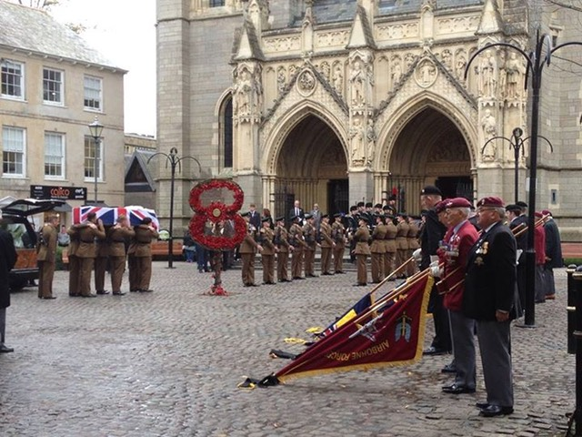 Truro Cathedral to pay their respects to soldier David Curnow